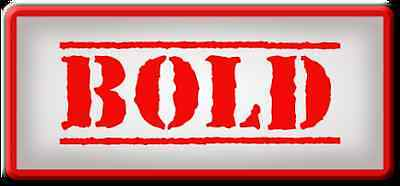 BOLD Sales