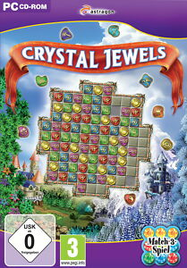 CRYSTAL JEWELS MATCH-3-SPIEL PC CD-ROM - <span itemprop='availableAtOrFrom'>Krefeld, Deutschland</span> - CRYSTAL JEWELS MATCH-3-SPIEL PC CD-ROM - Krefeld, Deutschland