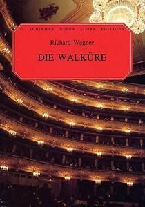 Richard Wagner  Die Walkure Opera, New, Various Book