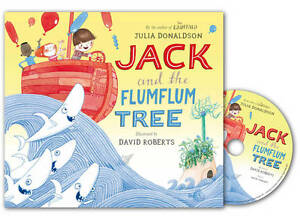 Jack-and-the-Flumflum-Tree-Book-and-CD-Pack-Book-CD-Donaldson-Julia-New-C