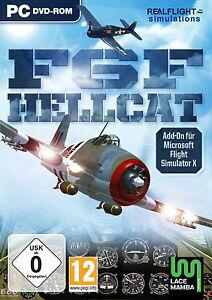 Flight Simulator X ~ Hellcat F6F (PC, 2010, DVD-Box)  NEU OVP