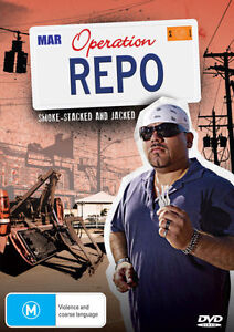 Operation Repo - Smoke-Stacked And Jacked (DVD, 2012)