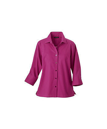 Foxcroft Women's 3/4-sleeve Fitted Blouse