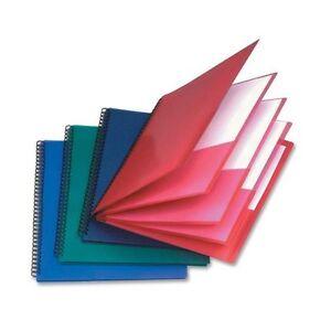 "Oxford Wire Binding Pocket Folder - Letter 8.5"" X 11"" 200 Sh"