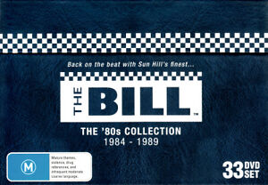 The-Bill-The-80s-Collection-DVD-2013-33-Disc-Set-BRAND-NEW-SEALED
