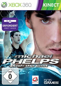 "X-BOX 360 -GAME - ""Michael Phelps: Push The Limit""++neu+ovp++"