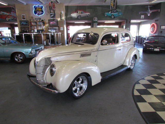 1939 ford deluxe 2 door sedan street rod vintage air ac for 1939 ford 2 door sedan for sale