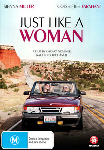 Just Like A Woman (DVD, 2013) Brand New & Sealed Region 4 DVD - Free Postage D19