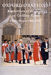 The Oxford Orations of Godfrey Bond 1980-92, Alison Bond, 1842170163