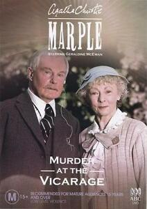 Miss Marple - A Murder In The Vicarage (DVD, 2005) PAL R4 🇦🇺Brand New Sealed