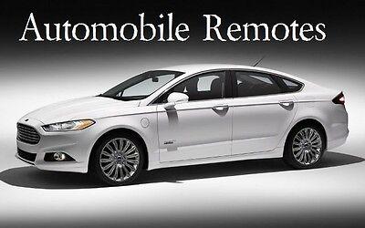 Automobile Remotes