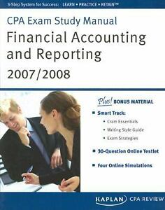 Financial accounting and reporting cpa book
