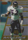 Ray Lewis Grade 9.5 Football Trading Cards