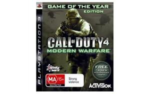 Call of Duty 4: Modern Warfare -- Game of the Year Edition (Sony PlayStation 3,…