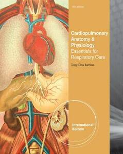 NEW - FAST to AUS - Cardiopulmonary Anatomy & Physiology by Jardins (6 Ed)