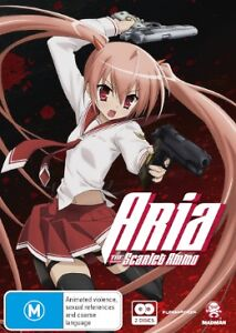 Aria The Scarlet Ammo - Collection (DVD, 2013, 2-Disc Set) BRAND NEW REGION 4