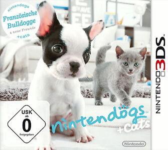 Nintendogs + Cats: Französische Bulldogge & neue Freunde für Nintendo 3DS