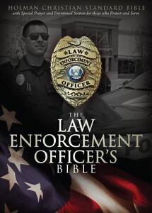 Hcsb law enforcement officer s bible by holman bible staff 2012 13722