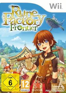 Rune Factory: Frontier (Nintendo Wii, 2010, DVD-Box)