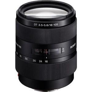 Sony Alpha 16-105 mm F/3.5-5.6 DT Objektiv # NEU & OVP