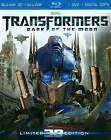 Transformers: Dark of the Moon (Blu-ray/DVD, 2012, 4-Disc Set, Ultimate Edition; 3D; UltraViolet) (Blu-ray/DVD, 2012)