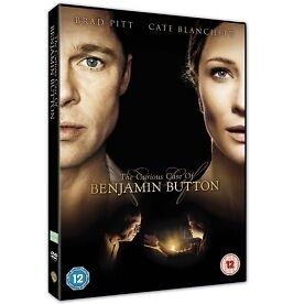 The Curious Case Of Benjamin Button (2009) NEW SEALED DVD Brad Pitt UK FREEPOST
