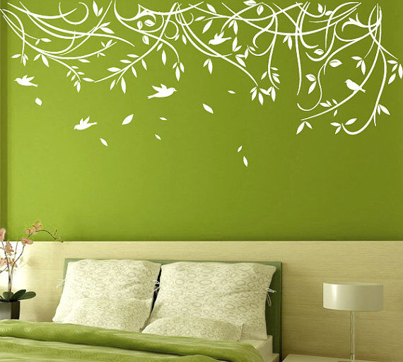 the decals come in basic black looking best against brightly painted walls or in a variety of colors - Design A Wall Sticker