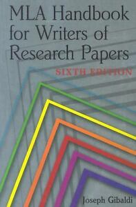 gibaldi joseph mla handbook for writers of research papers