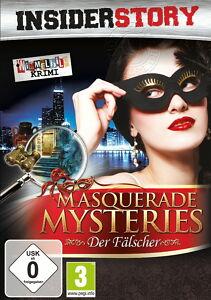 Insider Story: Masquerade Mysteries - Der Fälscher (PC, 2010, DVD-Box) - Deutschland - Insider Story: Masquerade Mysteries - Der Fälscher (PC, 2010, DVD-Box) - Deutschland