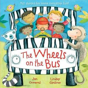 """""""VERY GOOD"""" Ormerod, Jan, The Wheels On the Bus, Book"""
