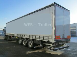Web-Trailer  PRSSQ 27 SYS Curtainsider XL und LBW
