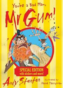 Youre-a-Bad-Man-Mr-Gum-Special-Edition-Stanton-Andy-New-Book