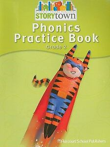 Storytown-Grade-2-Phonics-Practice-Book-by-Harcourt-2006-Paperback