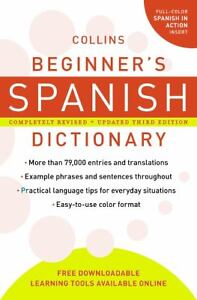 Books > Textbooks, Education > See more Collins Beginner's Spanish ...: ebay.com/itm/collins-beginners-spanish-dictionary-3rd-edition...