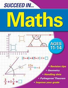 Succeed-in-Maths-11-14-Years-Arcturus-Publishing-Very-Good-1841930938