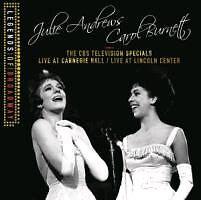 Julie Andrews and Carol Burnett: The CBS Television Specials, 2 Audio-CDs