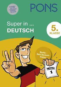 - - PONS Super in Deutsch. 5. Klasse: Buddy - Dein Deutsch-Trainer