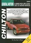 General Motors S-Series Pick-Ups and SUVs 1994-04 Repair Manual by Robert Maddox and Thomas Mellon (2005, Paperback) : Robert Maddox,...
