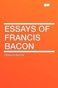 francis bacon essays summary of studies