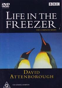 DavidAttenborough- Life In The Freezer : NEW DVD