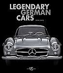 Legendary German Cars (2011, Hardcover) Image