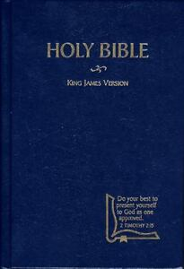 KJV Drill Bible (1982, Hardcover)