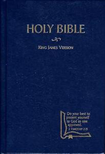 KJV Drill Bible (1982, Hardcover)