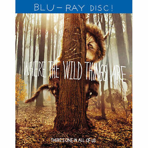 Where the Wild Things Are (Blu-ray 2010) NEW