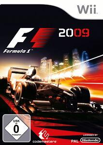 F1 2009 (Nintendo Wii, 2009, DVD-Box)