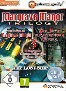 Margrave Manor Trilogy  3 Spiele