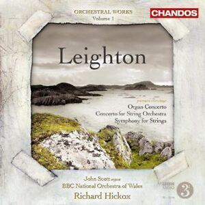 Organ Concerto, Concerto for String Orchestra (Hickox) CD NEW