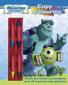 Disney Monsters University Copy Colour (1) x 1 (UK), Disney, New Book