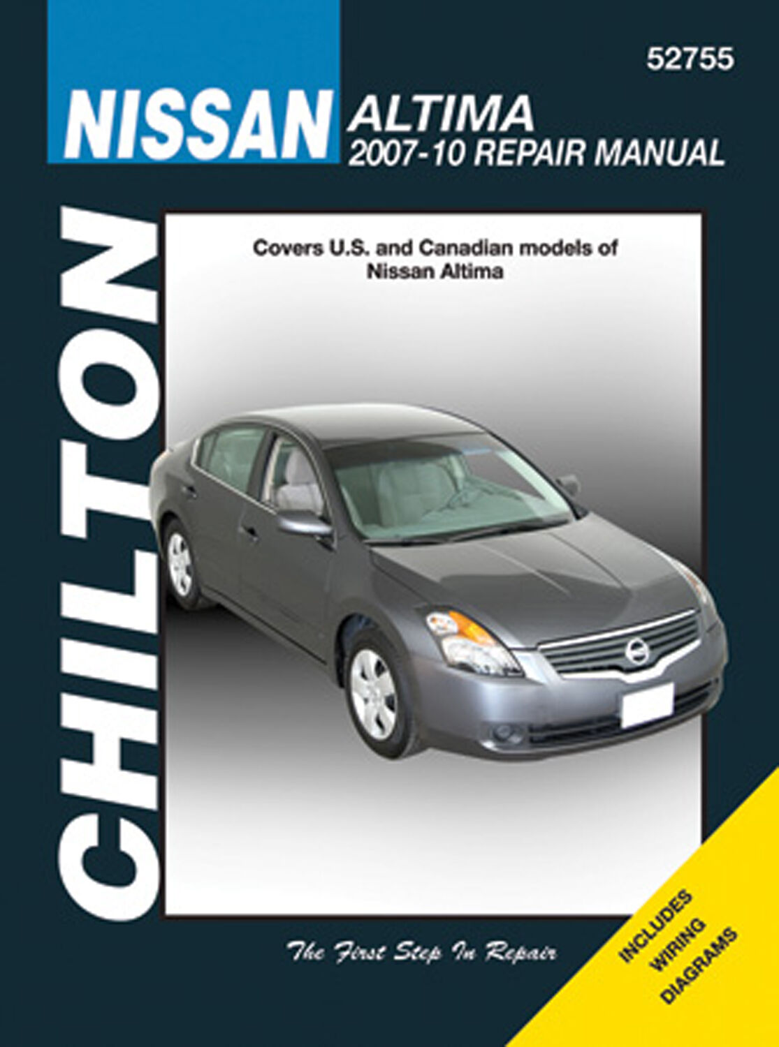 Repair Manual Chilton 52755 Fits 07 10 Nissan Altima Ebay Teana Wiring Diagram Stock Photo
