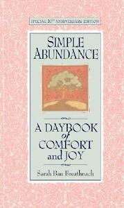 NEW-Simple-Abundance-A-Daybook-of-Comfort-of-Joy-by-Sarah-Ban-Breathnach